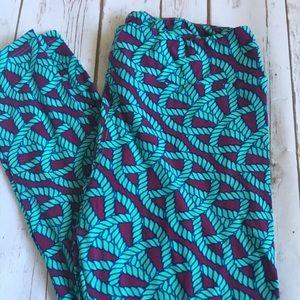 Lularoe Rope Knot Leggings - TC